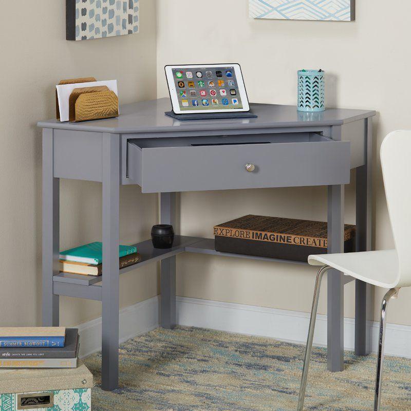 suri wood corner writing desk in 2019 office desk corner rh pinterest com