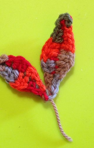 Crochet Easy and Quick Fall Leaves | Guidecentral