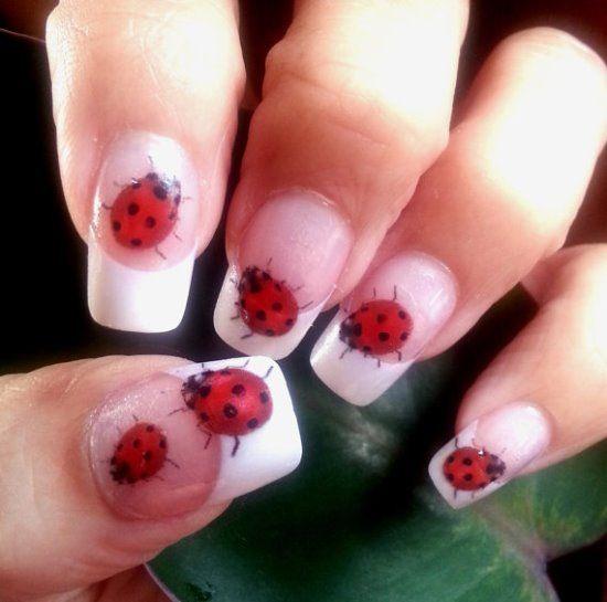 42 Cute Ladybug Nail Art Designs Nail Design Ideaz Nail Art