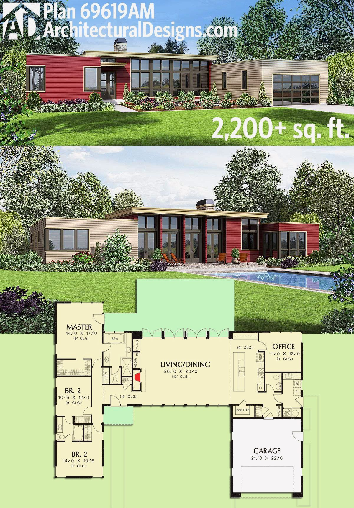 18 One Floor House Design Modern Container House Plans Modern House Plan House Plans One Story