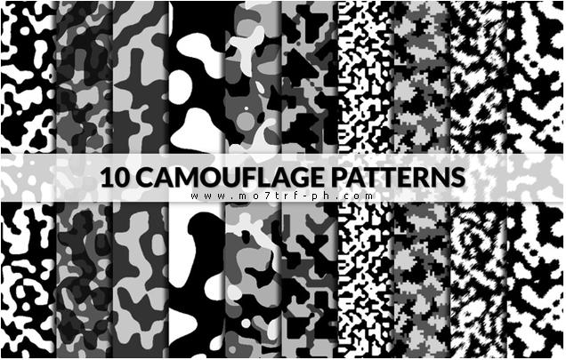 باترن فوتوشوب تمويه Camoflage Patterns Camouflage Patterns Free Photoshop Patterns Pattern