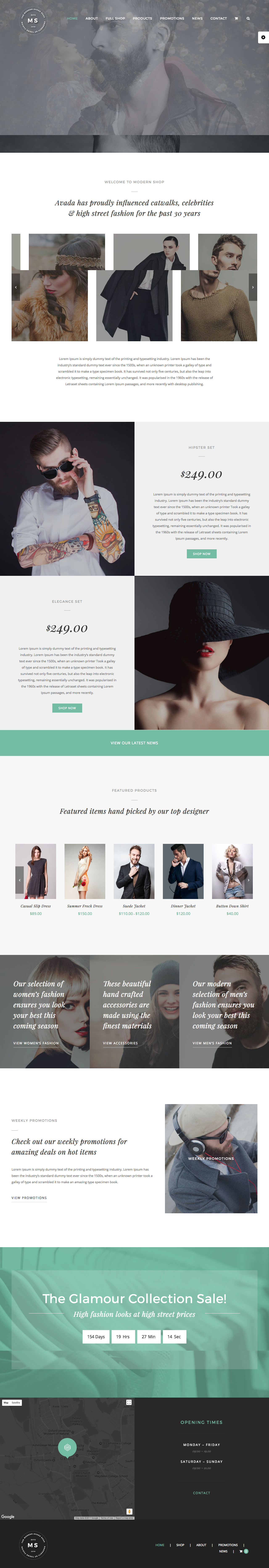 Avada Responsive MultiPurpose Theme Wordpress theme