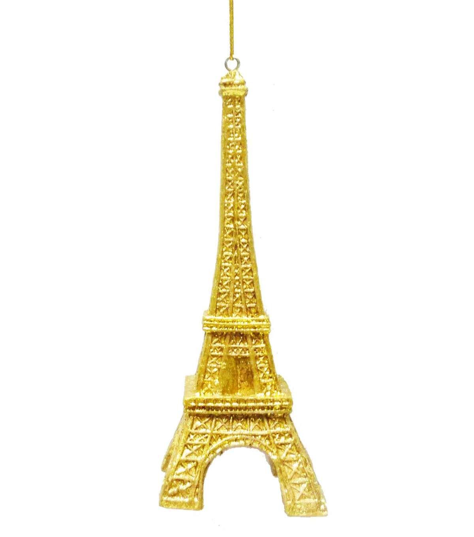 Maker\'s Holiday Eiffel Tower Ornament-Gold - 2016 Jo-Ann Fabric ...