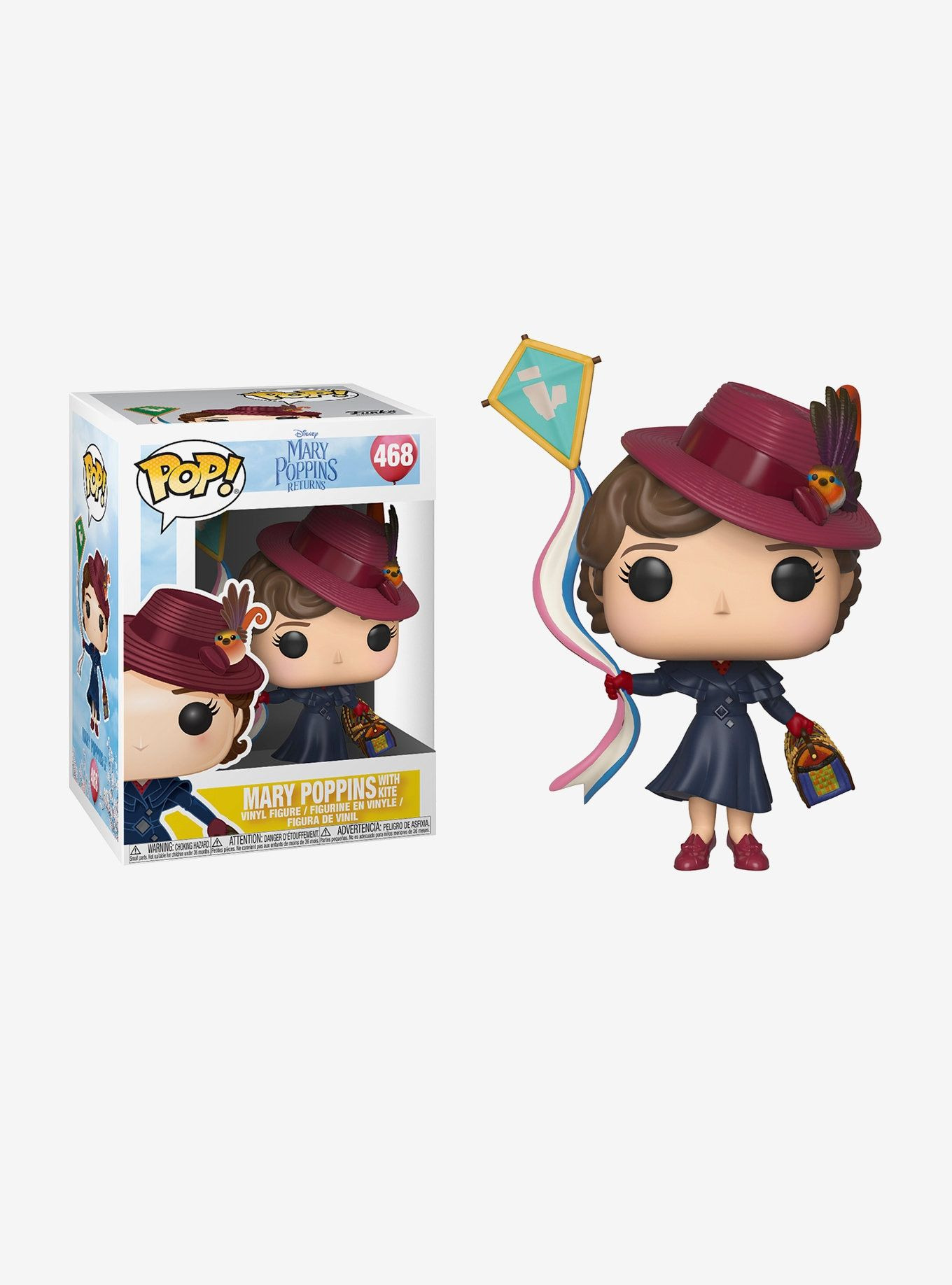 dbd6a74491f Funko Mary Poppins Returns Pop! Mary Poppins With Kite Vinyl Figure