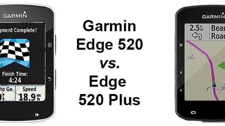 Garmin Edge 520 Vs 520 Plus Bike Training Training Plan Indoor