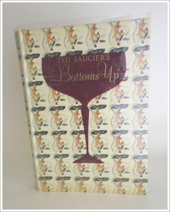 Bottoms up book cocktails