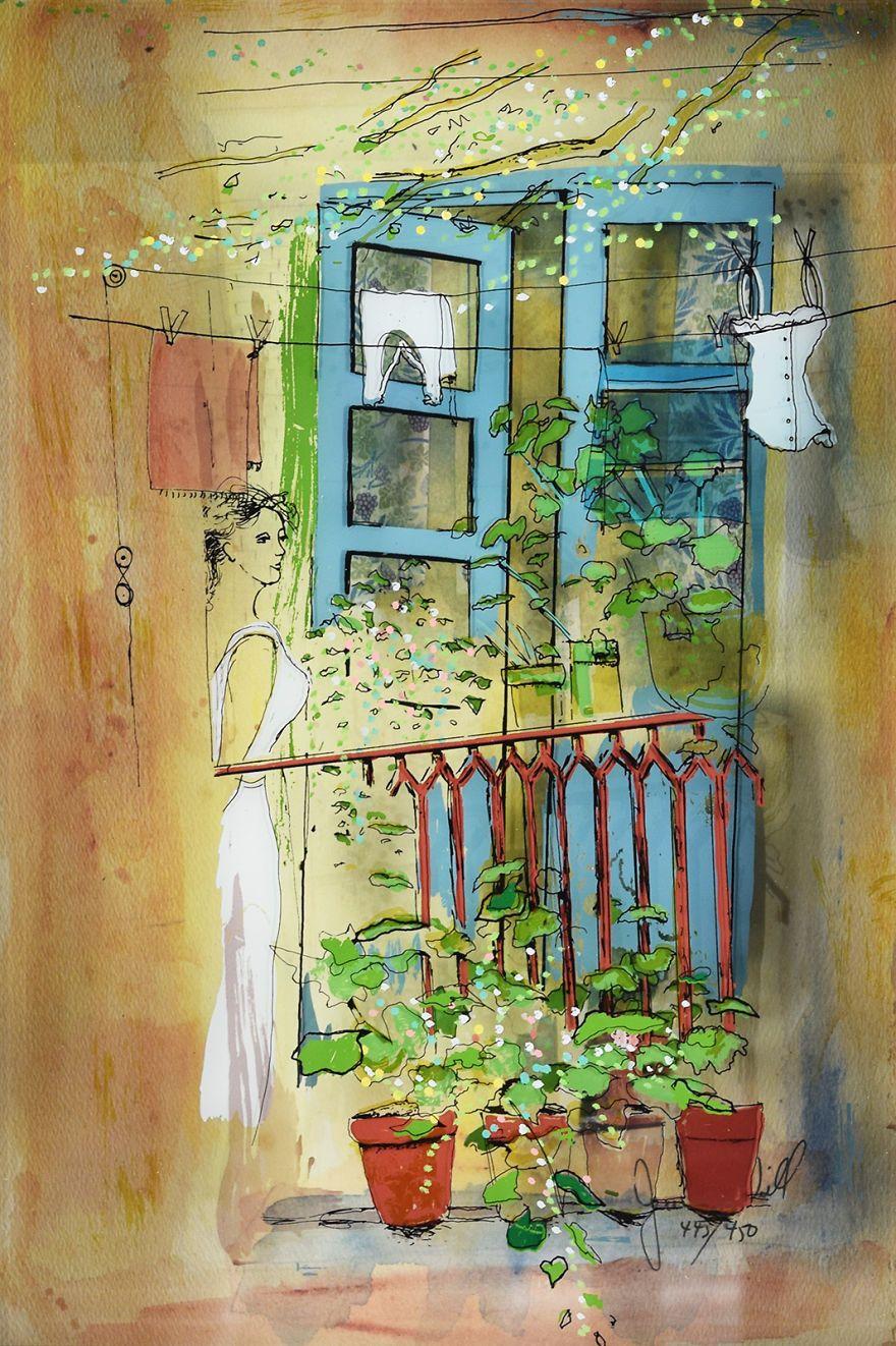 Vitreography Les Peintures 3d Sur Vitres De Jean Pierre Weill