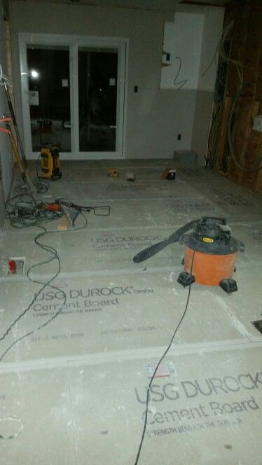 Durock Cement Board For Floor