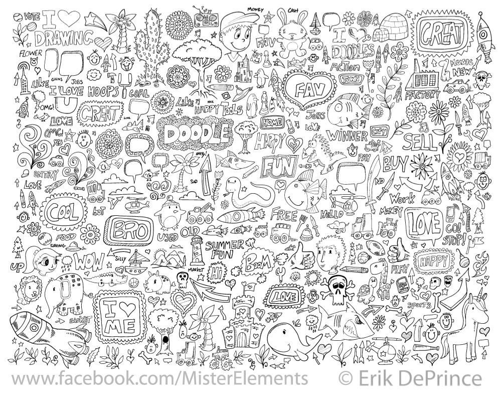 Cute doodles google search doodling pinterest for Random cute drawings