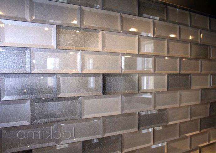 Awesome Glass Subway Tile Backsplash Ideas Part - 10: Glass Subway Tile Backsplash Ideas - Home Design