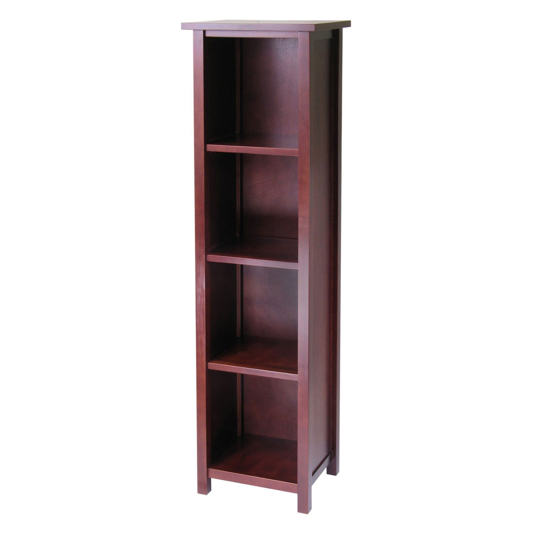 Winsome Milan 5 Tier Wood Bookcase  94416