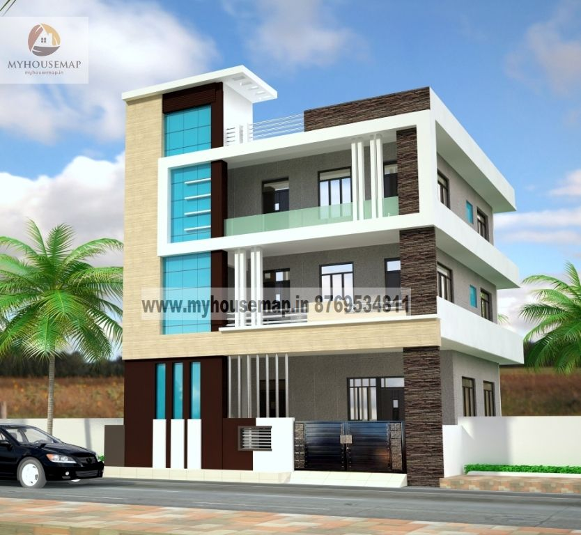 Glory Architecture 25x50 House Elevation Islamabad: Building Elevation Pictures Homes Floor Plans