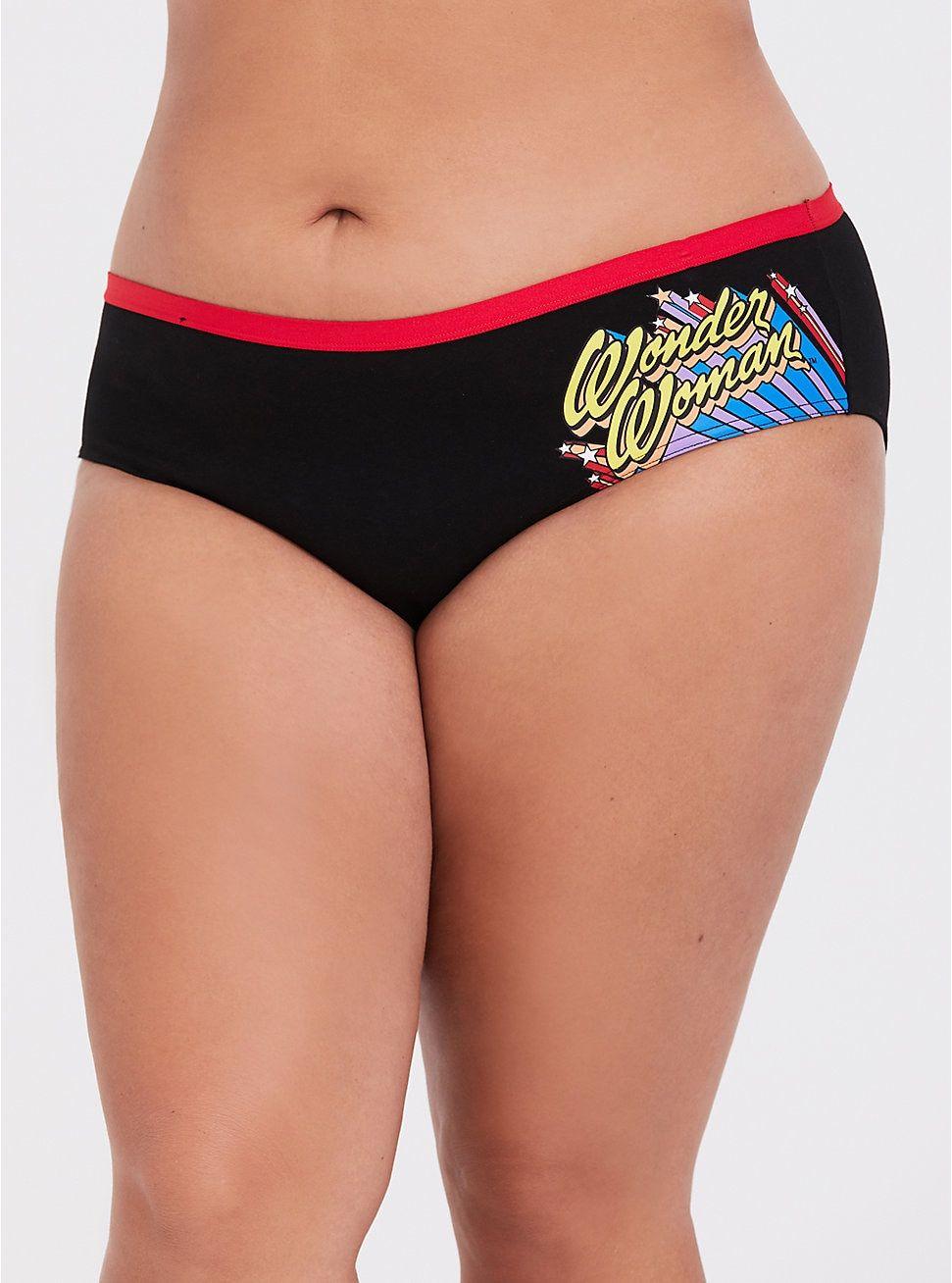 645448556de Wonder Woman Cotton Hipster Panty in 2019