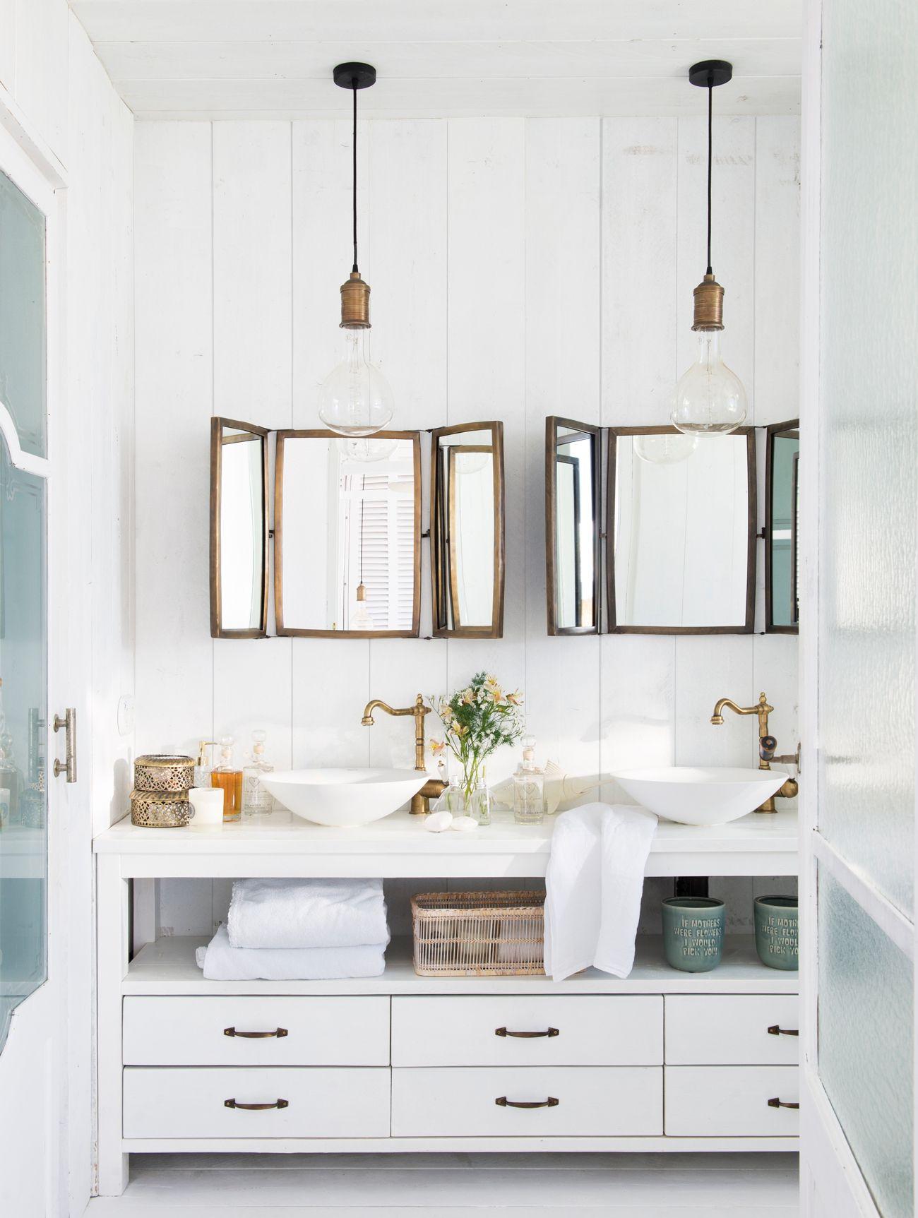 Piezas con gracia decoraci n casa ba os cuarto de - Picas de bano ...