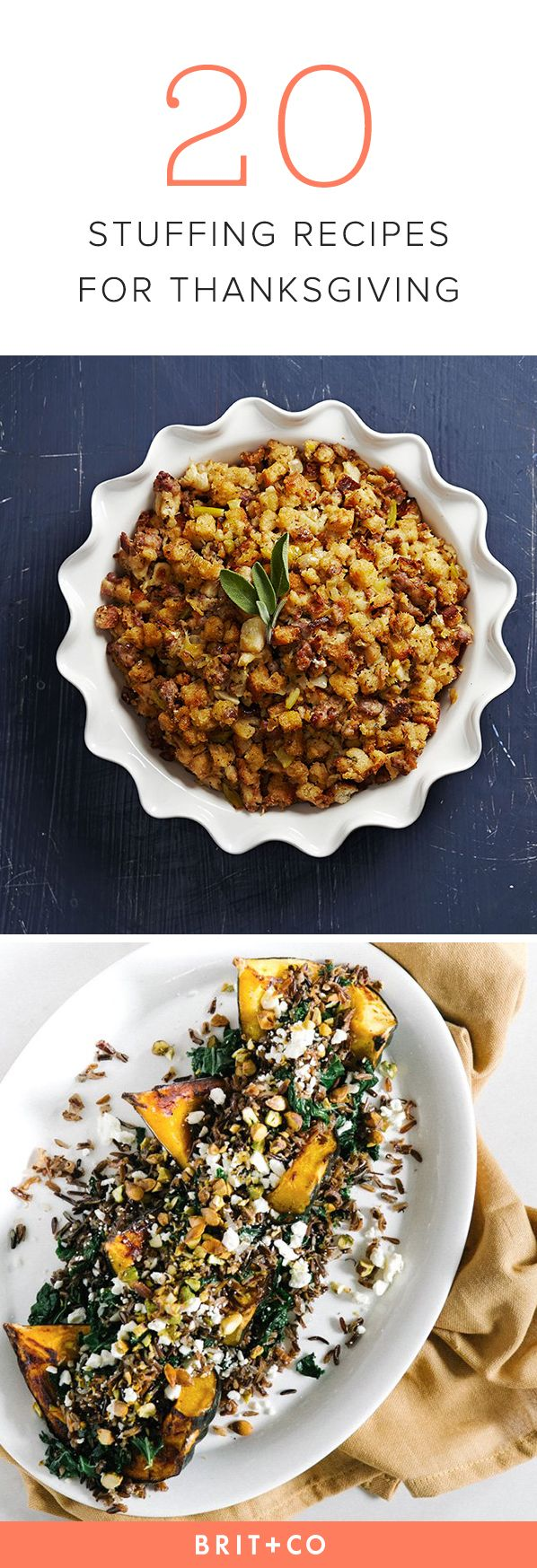 Whip up one of these stuffing recipes for Thanksgiving.