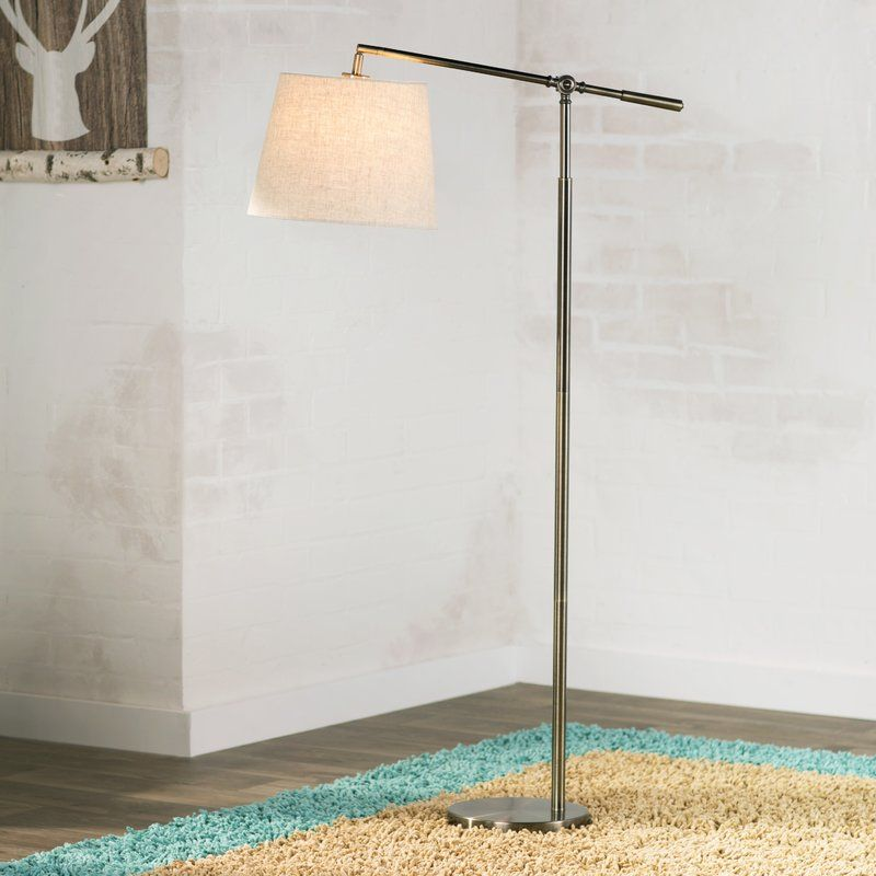 "Lexi 59"" Task Floor Lamp Long floor lamp, Floor lamp, Lamp"