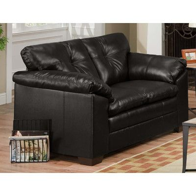 Simmons Sebring Coffee Bean Leather Loveseat The Is Not Only Stylish But Extremely Comfortable