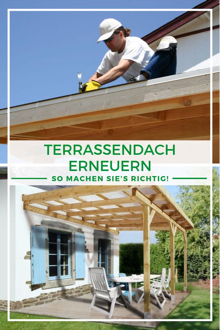 Pin von Christian auf Zukünftige Projekte Terrassen dach