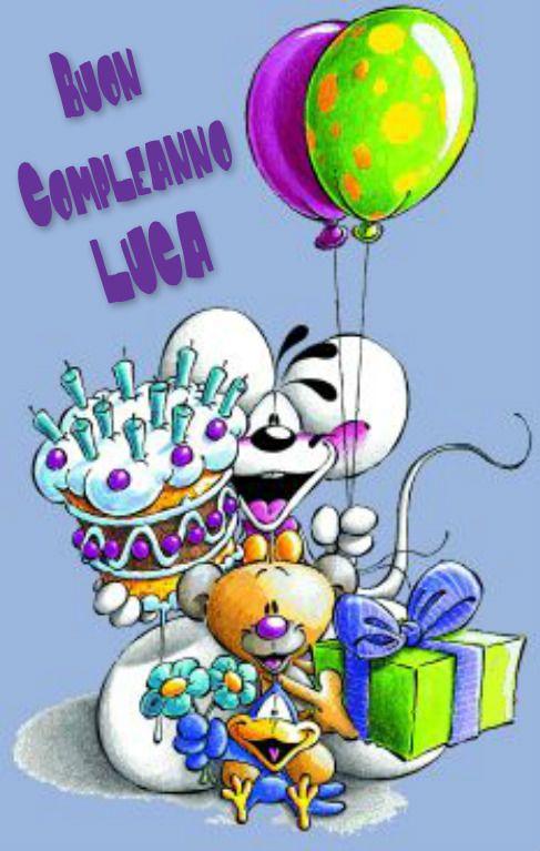 Buon Compleanno Luca Leuke Lege Blaadjes Happy Birthday