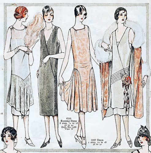 Gorgeous 1920s Fashion Illustration 1920s Fashion Vintage Fashion Art Deco Fashion