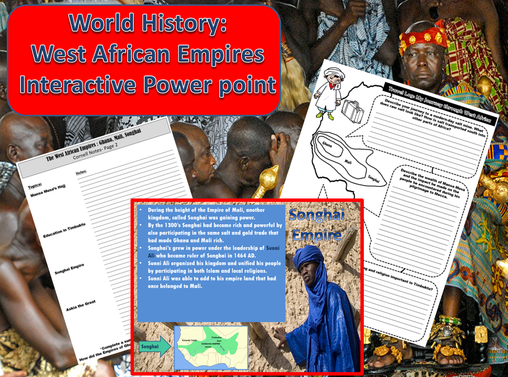 World History West African Empires Interactive Power