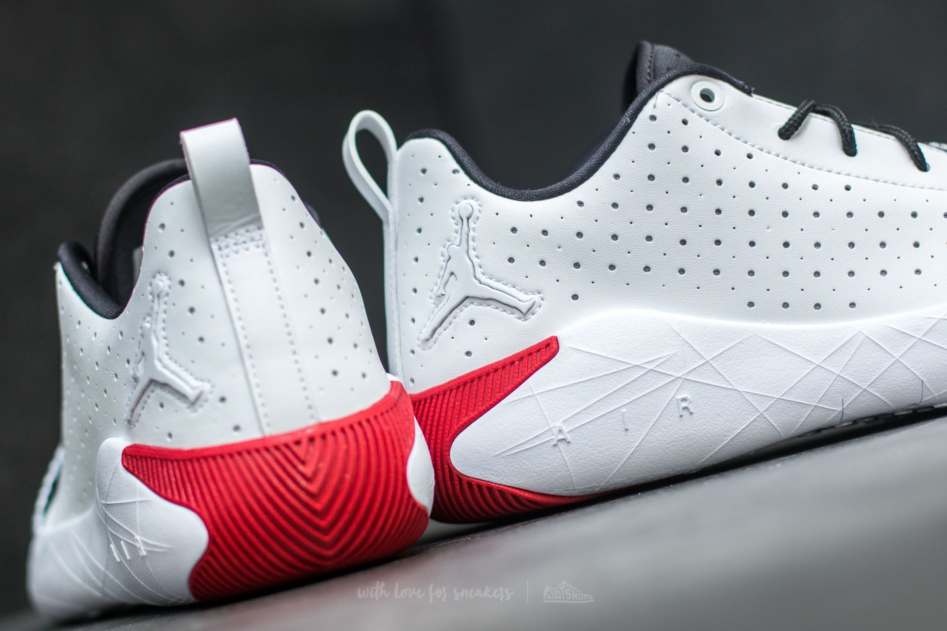Jordan 23 Breakout White  White-Gym Red-Black at a great price 127 € buy at  Footshop fa9e0749e