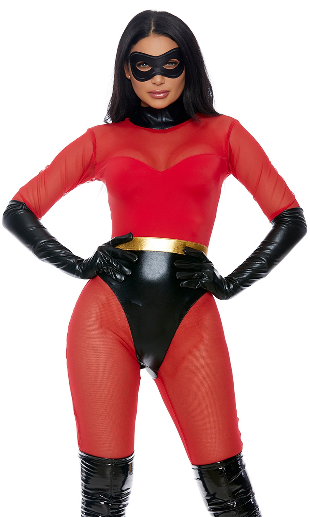 Super Suit Incredibles Superhero Adult Womens Halloween