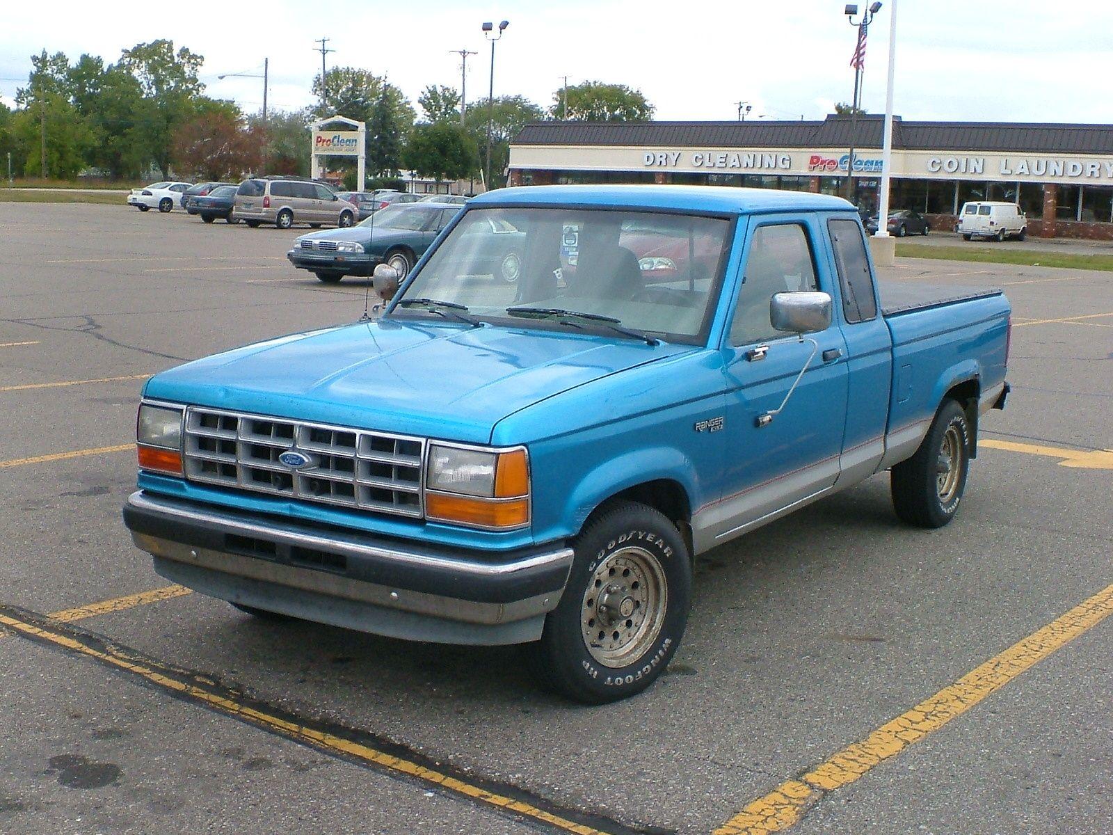 1992 Ford Ranger Xlt Extended Cab Sb Ford Ranger Ford Ranger Truck Ranger