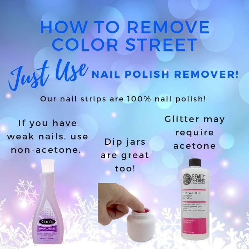 Color Street Is 100 Nail Polish With No Dry Time No Smudges Long Lasting And Easy To Apply And Remove To Lear Color Street Color Street Nails Nail Polish
