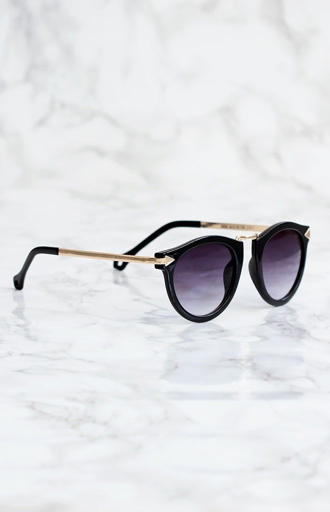 81378ddb1 Zoe Sunglasses Black | Beginning Boutique shop new @ www.bb.com.au ...