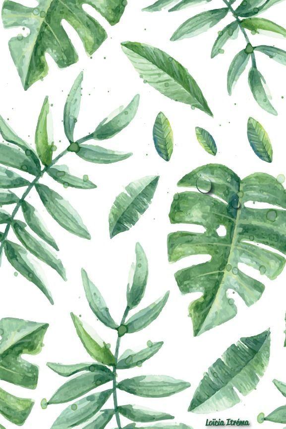 Wallpapers #7 - Green Spring | Fond d'écran téléphone ...