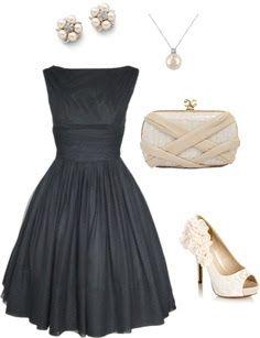 LOLO Moda: Navy dress