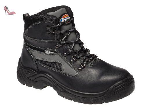 Dickies - Calzado de protección para mujer, color negro, talla 44