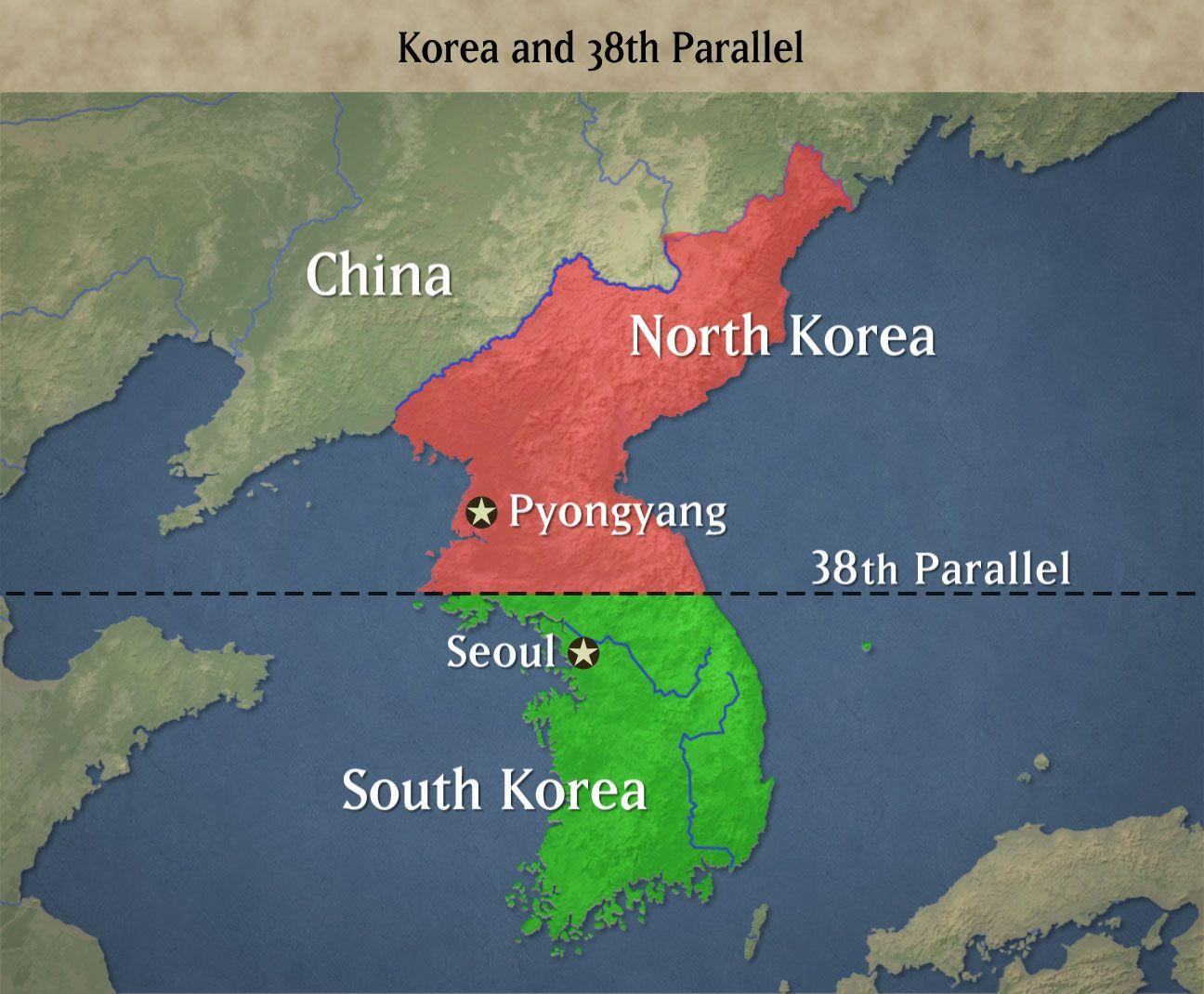 Korean War North Korea South Korea Korean War