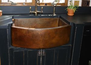 High Quality Custom Mexican Copper Sink.