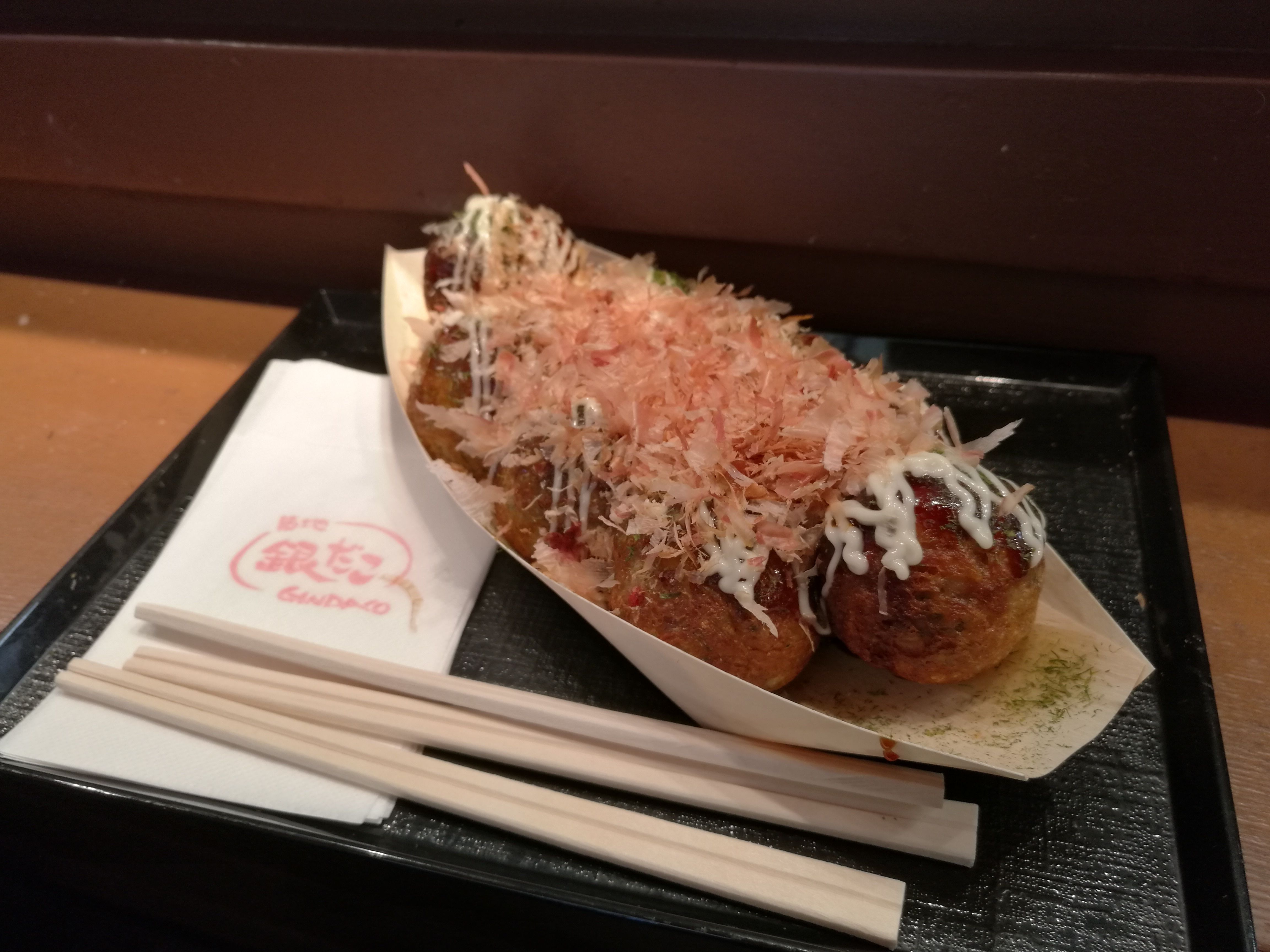 Takoyaki: bolitas con pulpo dentro