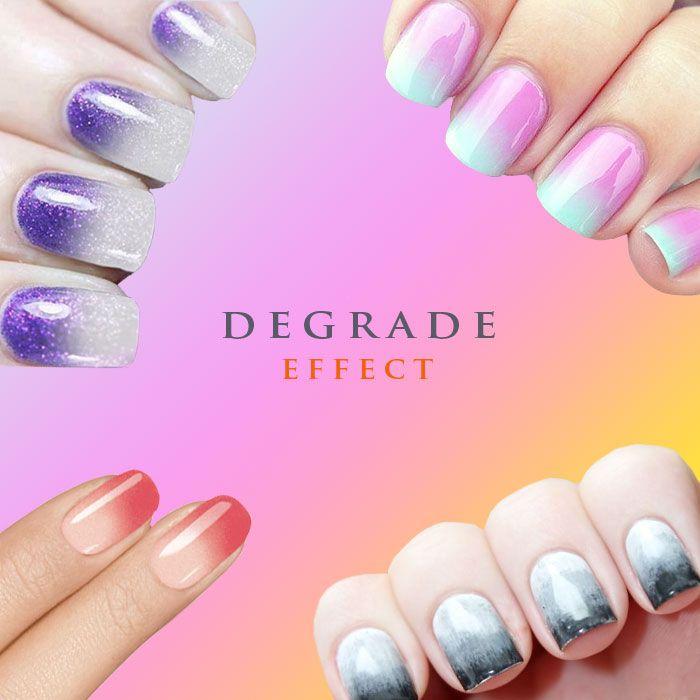 Beauty & Fashion: uñas con efecto degradado (Lovely Trends) | La uña ...