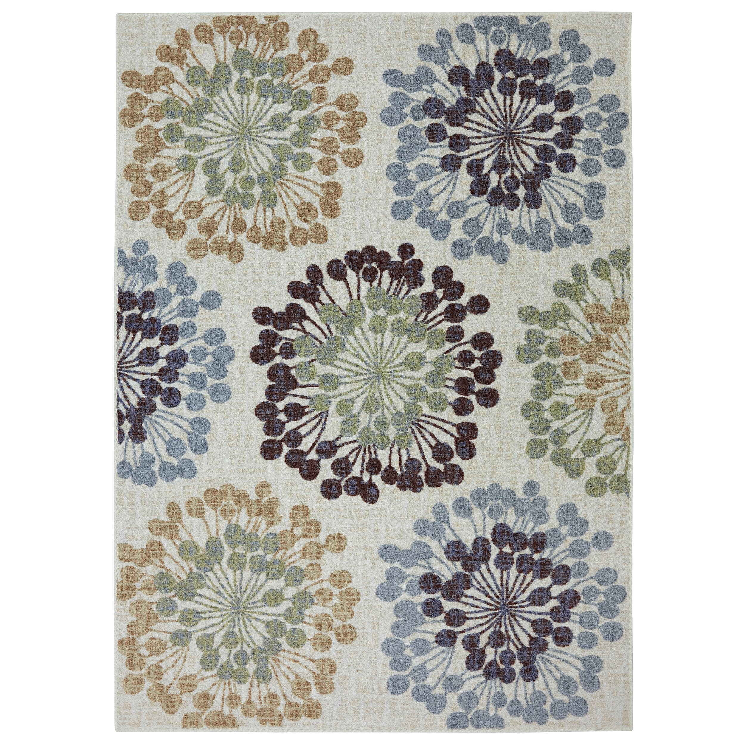 Combining muted hues, this design will set the foundation for a tranquil space within your home. This rug is extremely durable and vibrant.