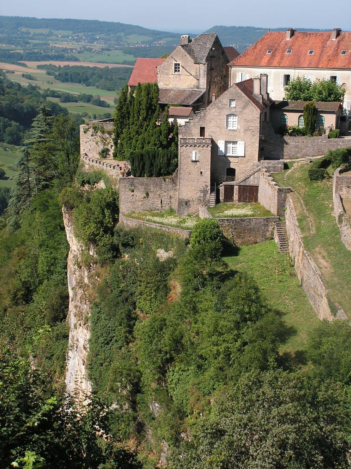 Franche Comte Jura Chateau Chalon Chateau Chalon Franche Comte Vacances En France