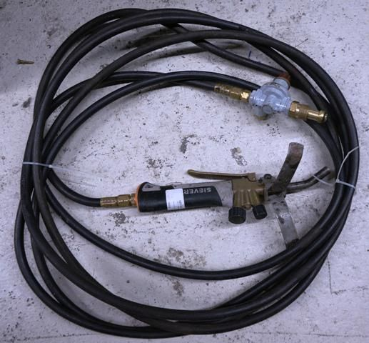 80 Sievert Roofing Torch With Hose And Regulator 184048 1 Torch Roofing Regulators