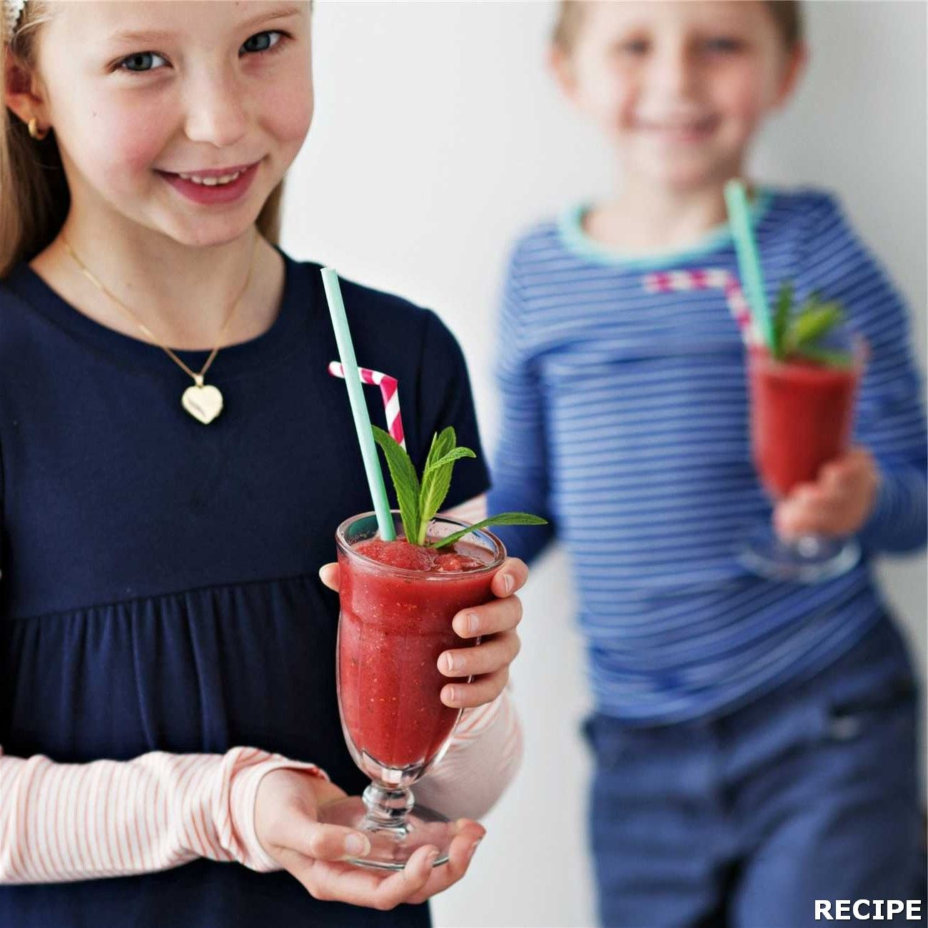 Watermelon Slushie Recipe : Directions 1. Process watermelon flesh with fresh or frozen berries, 2 cups of ice, apple or cranberry juice and some mint leaves until smooth...