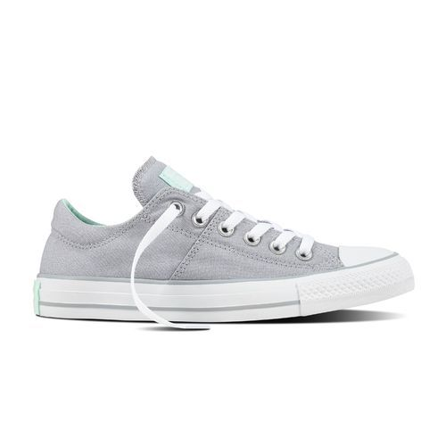 3810bab30900c0 Converse Women s Chuck Taylor All-Star Madison Low-Top Shoes (Grey Mint