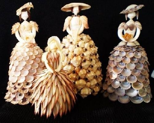 seashell art 13 | could be interesting | Pinterest | Shell ...