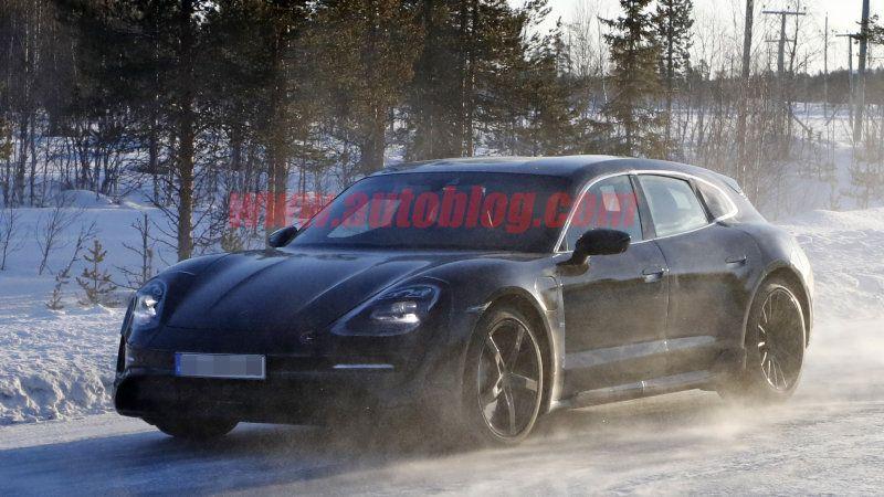 Porsche Taycan Sport Turismo Spy Photos And Details Porsche Taycan Porsche Panamera Porsche