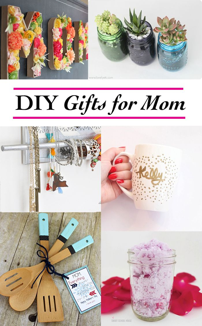 12 Thoughtful And Handmade DIY Gifts For Mom That Are Easy Quick To Make
