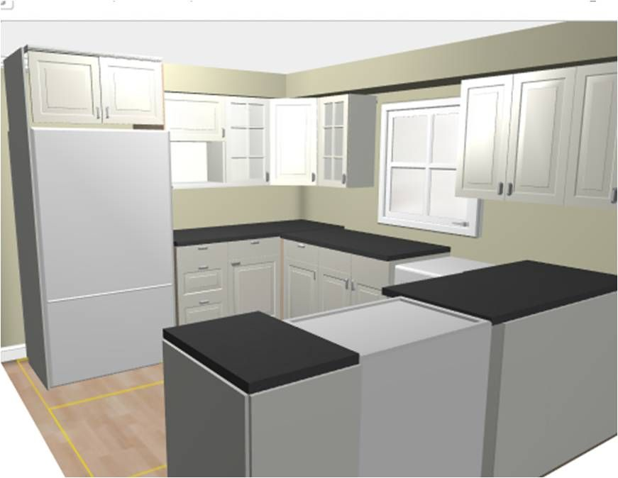 Use the Ikea kitchen planner to create a rendering | Kitchen ...