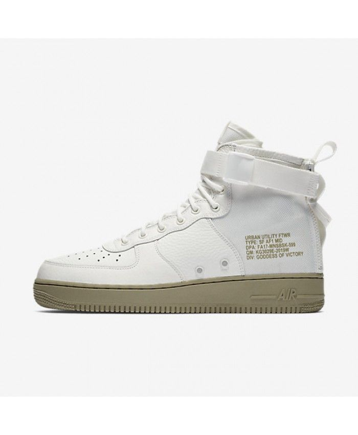 nike sf air force 1 metà d'avorio d'avorio neutrale 917753 101 air