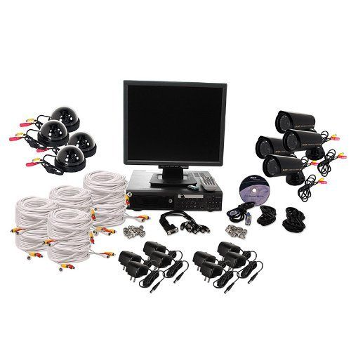Ev804 Dvr 8 Surveillance Camera Pro Package By Sora Inc 2380 00 A Full Surveillance System Requir Event Security Security Surveillance Surveillance System