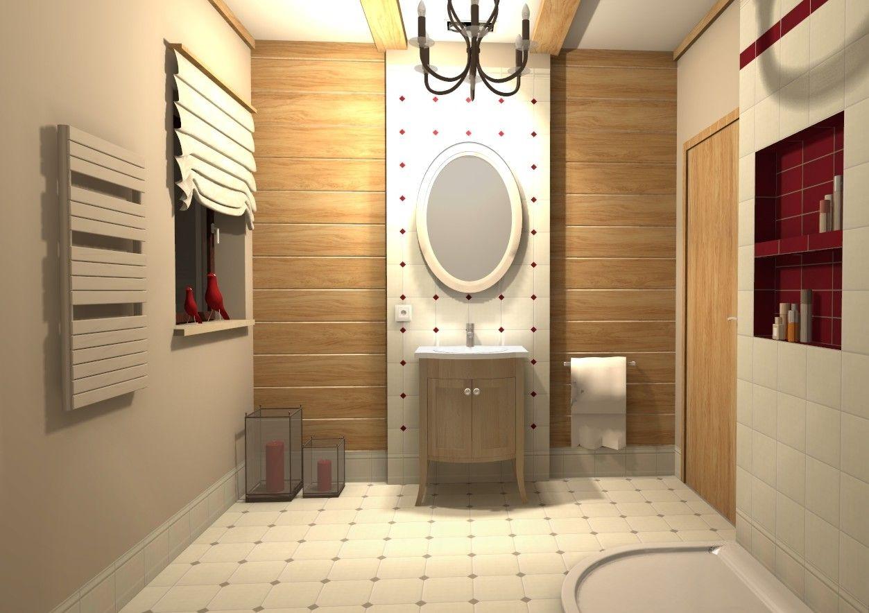 Projekt łazienki firmy Ars Deko