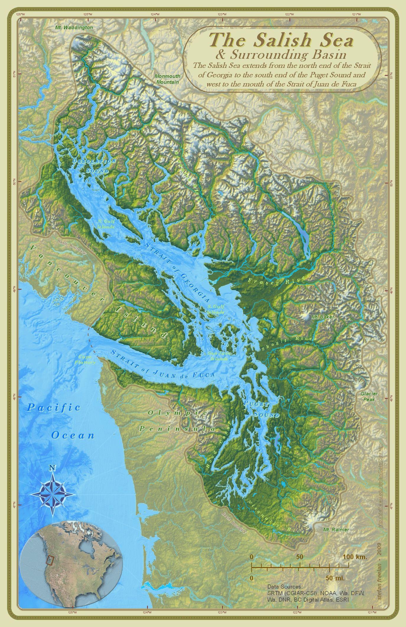 Cartographer Stefan Freelan of Western Washington University